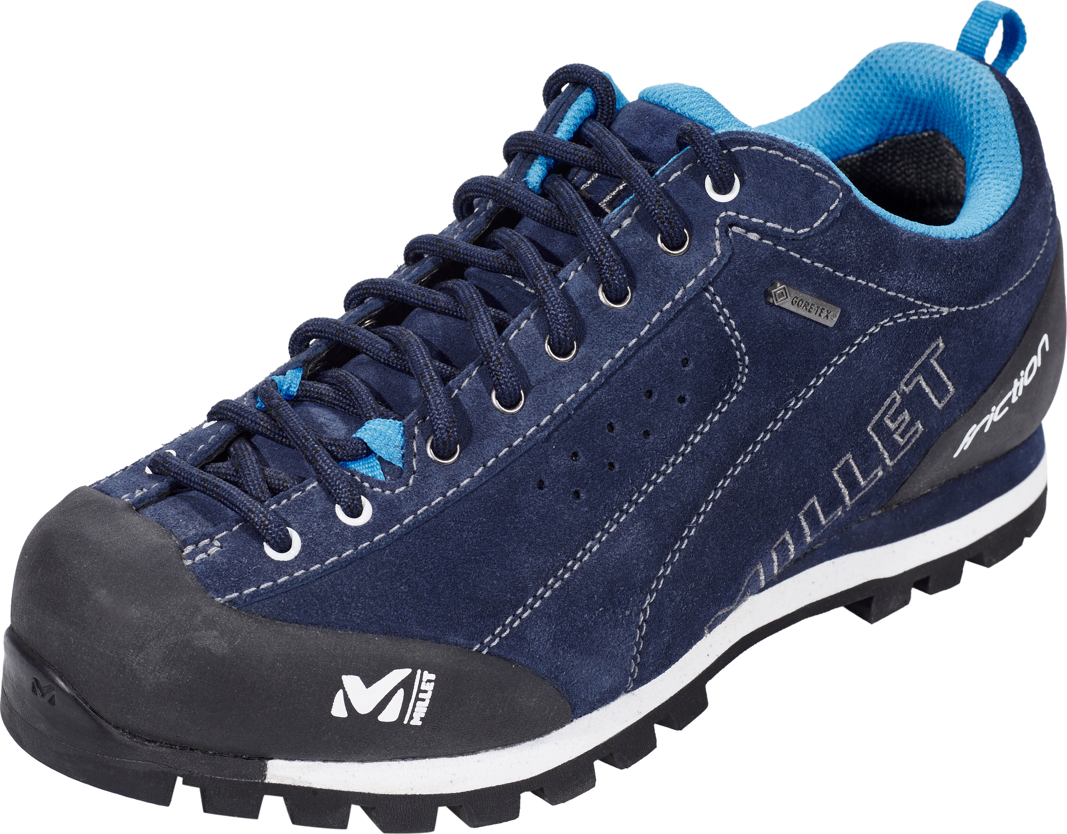02489fb258f Millet Friction Shoes GTX Women saphir/blanc